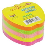"""Стикеры для заметок  """"Dolphin""""  яблоко (400 л)"""