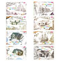 """Альбом для черчения (24 л с рамкой) """"Çyzuw Albomy"""""""