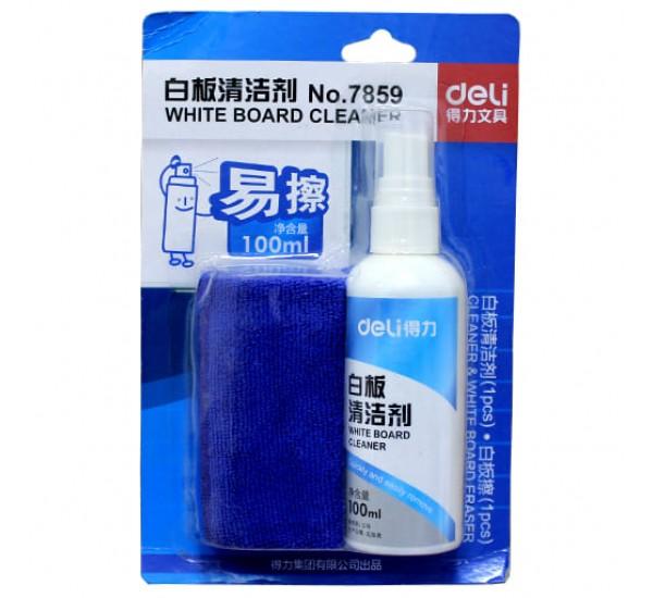 Набор для доски: чистящее средство и спрей 7859 (Deli)