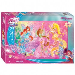 Пазлы 160 Winx (Step Puzzle)