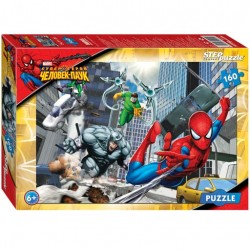 Пазлы 160 Человек паук (Step Puzzle)..