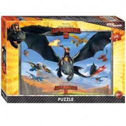Пазлы 260 Драконы (Step Puzzle)