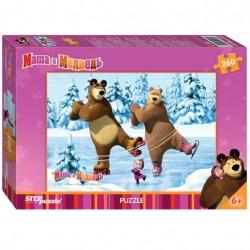 Пазлы 260 Маша и Медведь (Step Puzzle)..