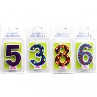 Свечи для тортов с цифрами