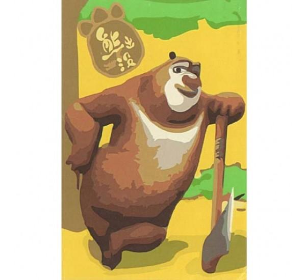 "Картина по номерам ""Маша и медведь"" 20х30 C089"