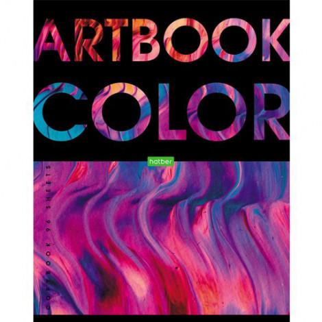 Тетрадь 96 л клетка Artbook (Hatber)
