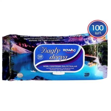 Влажные салфетки 100 шт Dagly derya (Rowac)