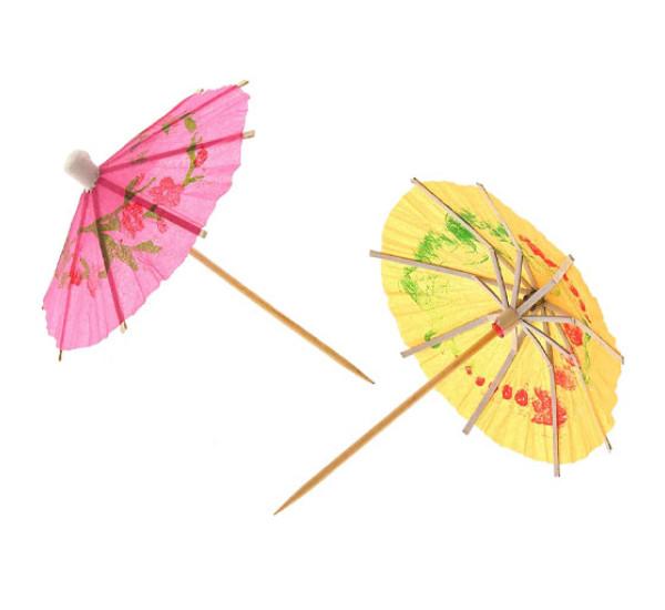 Зонтик для коктейля 12 Фрукты