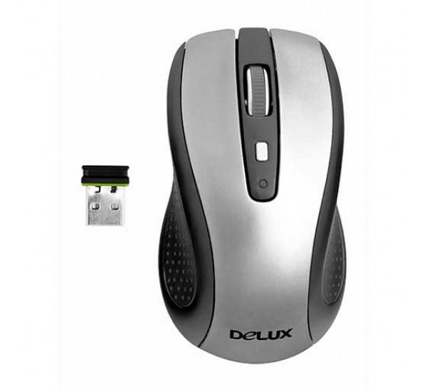 Мышь беспроводная Delux 486GL+G01UF Wireless