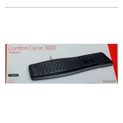 Клавиатура Microsoft Comfort Curve 3000 USB