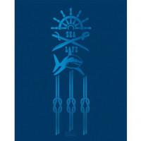 Тетрадь 96 л клетка Sea (Hatber)