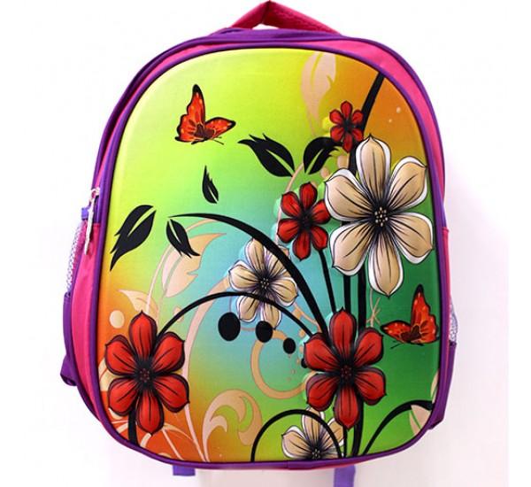 Рюкзак 3D с цветами
