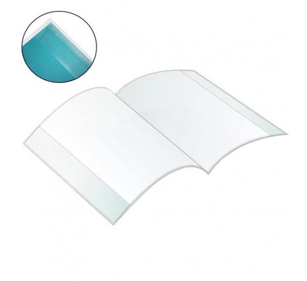 Обложка для учебников 26.5 x 42 с клеевым краем 10 шт (Dolphin)