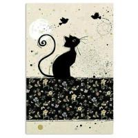 Тетрадь Magic Lines Багарт Черная кошка (48 л клетка)