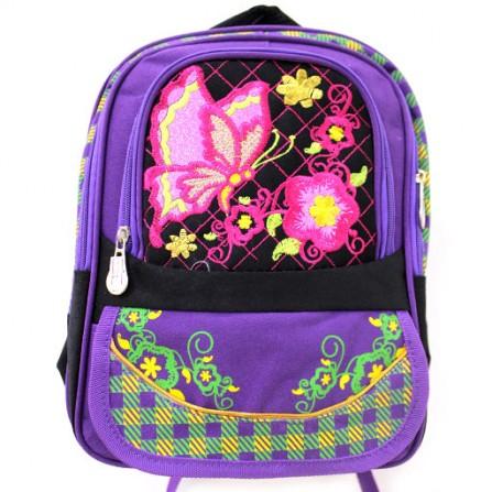 Рюкзак школьный с бабочкой
