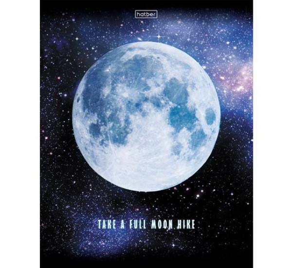 Тетрадь 96 л клетка Лунный свет (Hatber)