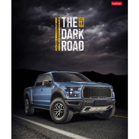 Тетрадь 48 л The Dark Road (Hatber)