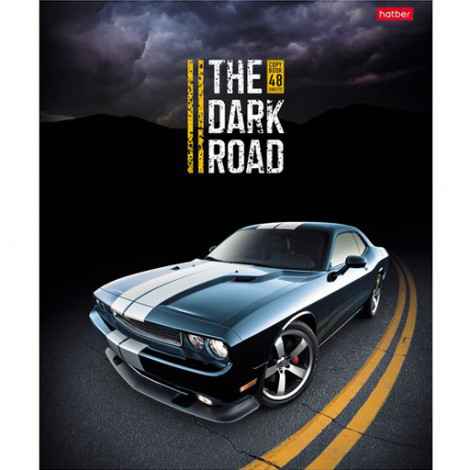 Тетрадь 48 л The Dark Road (Hatber)