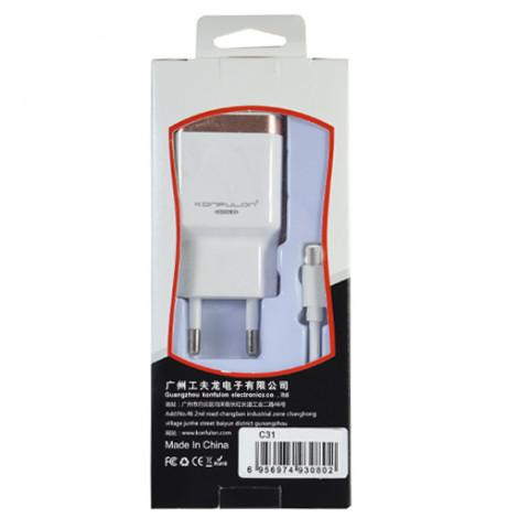 Зарядное устройство USB Micro C31 Konfulon