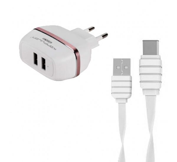 Зарядное устройство USB Type-C C23 Konfulon