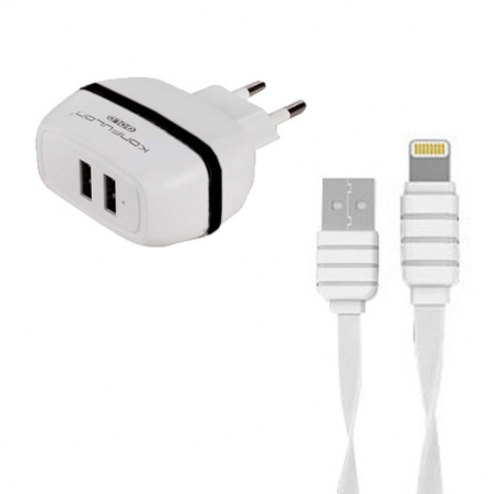 Зарядное устройство USB Lightning C23 Konfulon