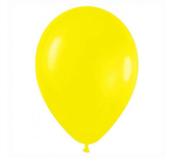Воздушный шарик Желтый