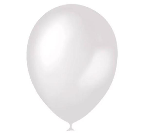 Воздушный шарик Белый