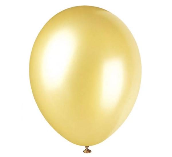 Воздушный шарик Золотистый