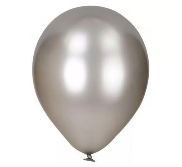 Воздушный шарик Серый
