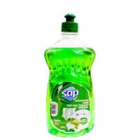 """Средство для мытья посуды аромат Зеленое яблоко 500мл """"SAP"""""""