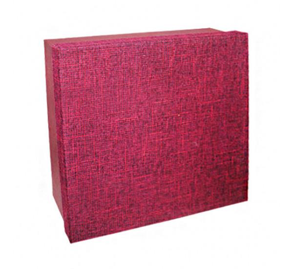 Коробка для подарков (7) №4 Бордовая