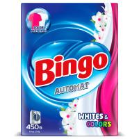 """Cтиральный порошок """"Bingo""""- WHITE & COLORS (450 гр)"""