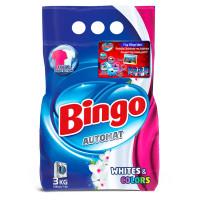 """Cтиральный порошок """"Bingo""""- WHITE & COLORS (3 кг)"""