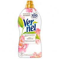 """Кондиционер для белья """"VERNEL"""" (Ароматерапия+ пион и белый чай1,82л)"""