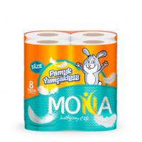 """Туалетная бумага """"Mona"""" (2 слоя 8 шт  0389)"""