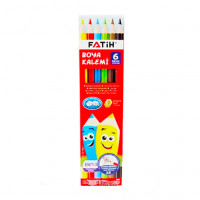 """Набор карандашей """"Fatih"""" 6 цветов в картонной коробке"""