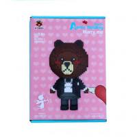 Конструктор MERRY ME no.8836-1 медведь