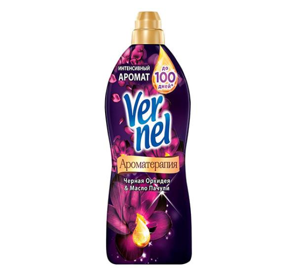 """Кондиционер для белья """"VERNEL"""" Ароматерамия (Черная орхидея и масло пачули 0,910л)"""