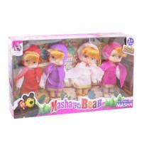 Кукла Маша 4 в 1 6841