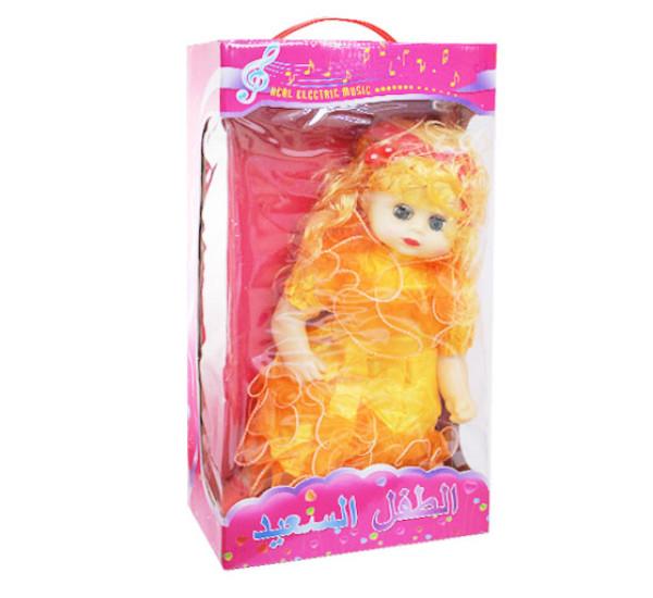 Кукла Real electric music