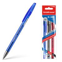 """Ручка гелевая """"ErichKrause"""" R-301 Original Gel Stick 0.5 (цвет чернил: синий, черный, красный)"""