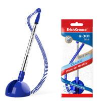 """Ручка шариковая """"ErichKrause"""" R-301 Desk Pen 1.0 (цвет чернил синий)"""