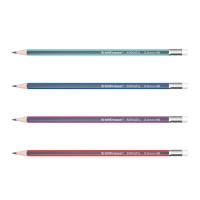 """Чернографитный трехгранный карандаш с ластиком """"ErichKrause"""" Sonata HB"""
