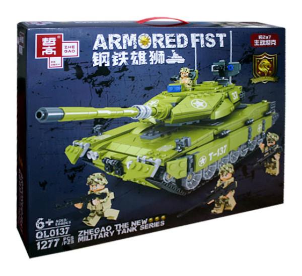 Конструктор Танк Armored Fist QL0137