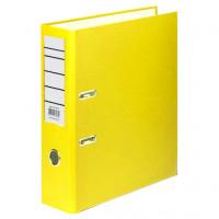 Папка регистратор А4 желтая (70 мм )