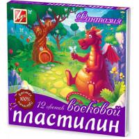 "Пластилин ""Луч"" Фантазия (12 цв)"