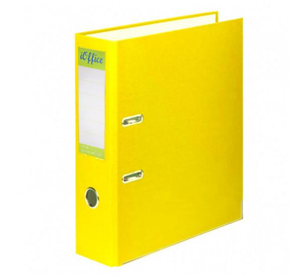 Папка регистратор iOffice А4 желтая (70 мм )