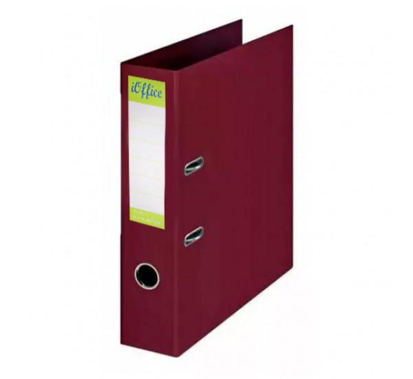 Папка регистратор iOffice А4 бордовая (70 мм )