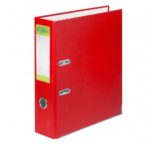 Папка регистратор iOffice А4 красная (70 мм )