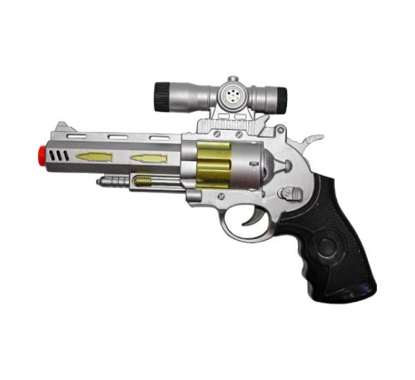 Пистолет с прицелом